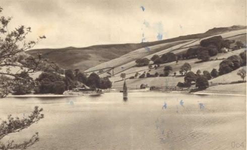 Old_Photo_Postcard_Derwent_Village_Derbyshire